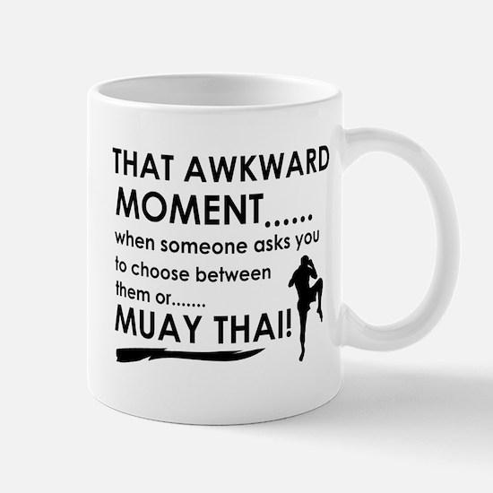 Cool Muay Thai designs Mug