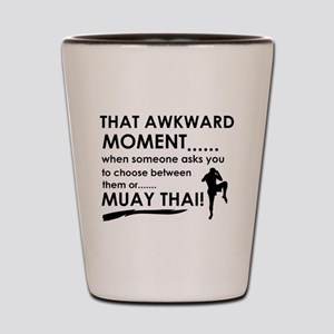 Cool Muay Thai designs Shot Glass