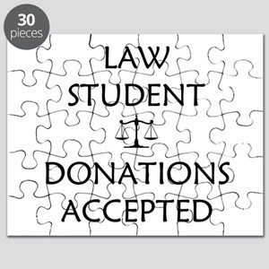 Law Student - Donations Accepted Puzzle