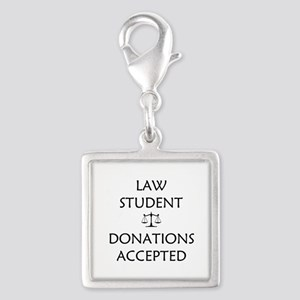 Law Student - Donations Accepted Silver Square Cha