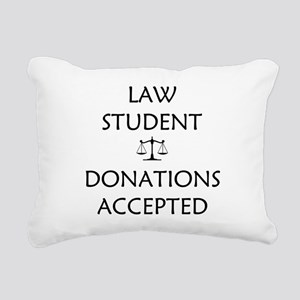 Law Student - Donations Accepted Rectangular Canva