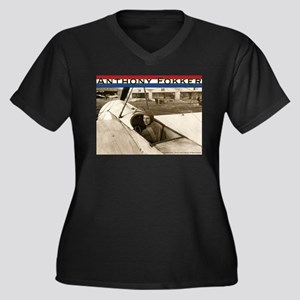 Anthony Fokker Plus Size T-Shirt