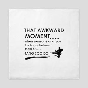 Cool Tang Soo Do designs Queen Duvet