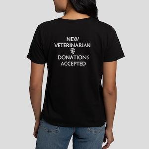 New Veterinarian - Donations Accepted Women's Dark