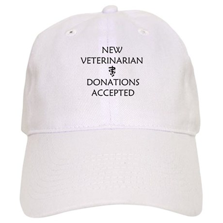 New Veterinarian - Donations Accepted Cap