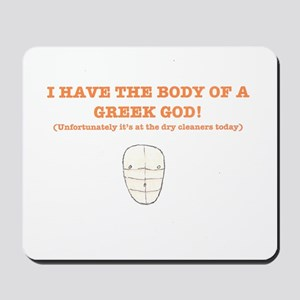 Greek God Mousepad