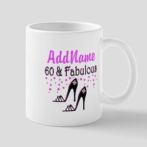 60 & A SHOE QUEEN Mug