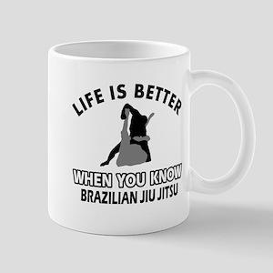 Brazilian Jiu Jitsu Vector designs Mug