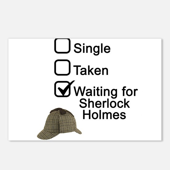 Waiting for Sherlock Postcards (Package of 8)
