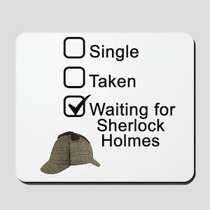 Waiting for Sherlock Mousepad
