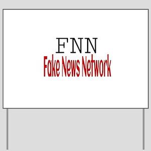 Fake News Network Yard Sign