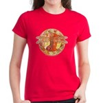 Hot Celtic Dragonfly Women's Dark T-Shirt