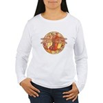 Hot Celtic Dragonfly Women's Long Sleeve T-Shirt