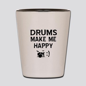 Drums musical instrument designs Shot Glass