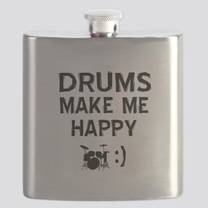 Drums musical instrument designs Flask