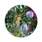 ENCHANTED MAGICAL GARDEN Ornament (Round)