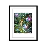 ENCHANTED MAGICAL GARDEN Framed Panel Print