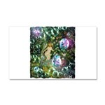 ENCHANTED MAGICAL GARDEN Car Magnet 20 x 12