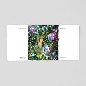 ENCHANTED MAGICAL GARDEN Aluminum License Plate