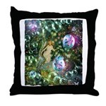ENCHANTED MAGICAL GARDEN Throw Pillow