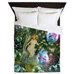 ENCHANTED MAGICAL GARDEN Queen Duvet