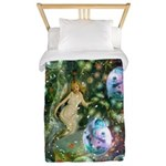 ENCHANTED MAGICAL GARDEN Twin Duvet