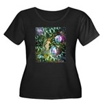 ENCHANTED MAGICAL GARDEN Plus Size T-Shirt