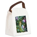 ENCHANTED MAGICAL GARDEN Canvas Lunch Bag