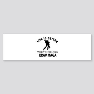 Krav Maga Vector designs Sticker (Bumper)