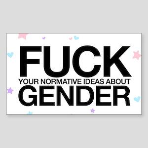 F*CK GENDER Sticker