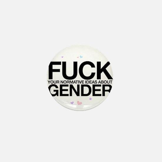 F*CK GENDER Mini Button