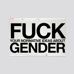 F*CK GENDER Rectangle Magnet