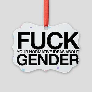 F*CK GENDER Ornament