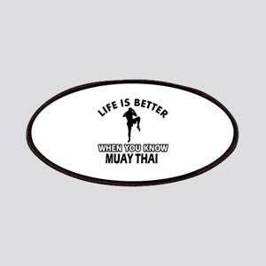 Muay Thai Vector designs Patches