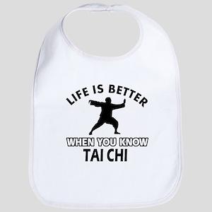Tai Chi Vector designs Bib