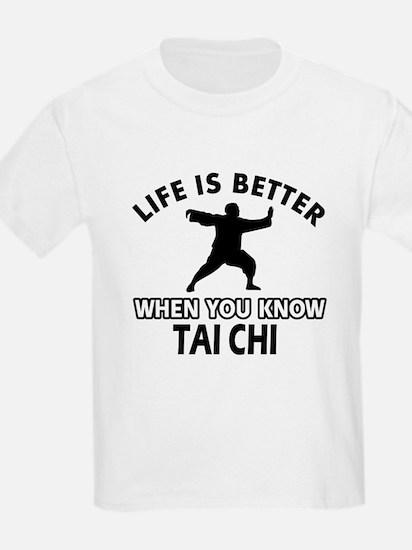 Tai Chi Vector designs T-Shirt