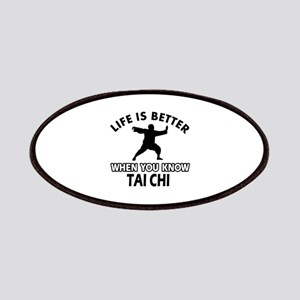 Tai Chi Vector designs Patches