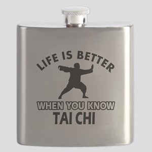 Tai Chi Vector designs Flask