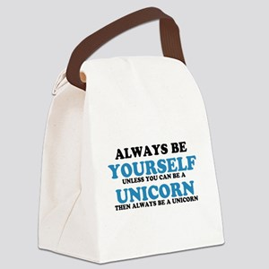 Always be a unicorn Canvas Lunch Bag