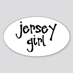 Jersey Girl Sticker (Oval)