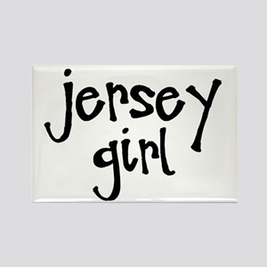 Jersey Girl Rectangle Magnet