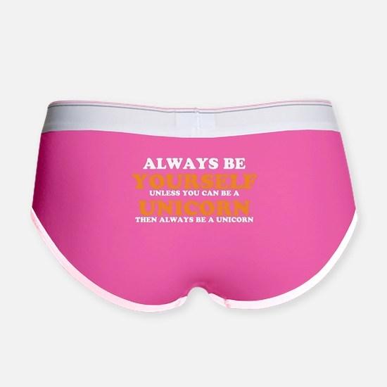 Always be a unicorn Women's Boy Brief