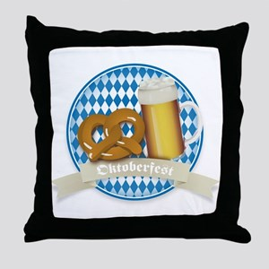 Oktoberfest Germany Throw Pillow