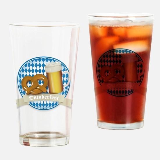 Oktoberfest Germany Drinking Glass