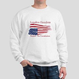 Legalize Freedom, Restore the Constiution Sweatshi