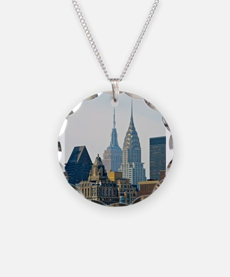 New York City Skyscrapers Necklace
