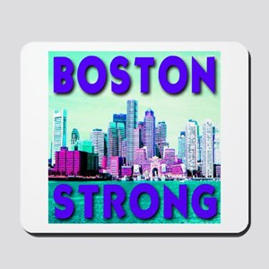 Boston Strong Skyline Mousepad