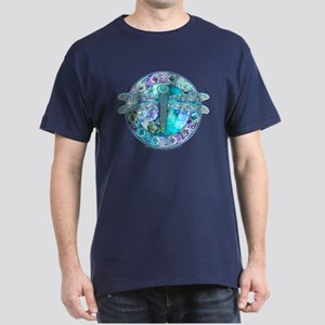 Cool Celtic Dragonfly Dark T-Shirt