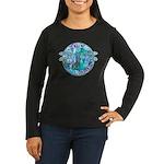 Cool Celtic Dragonfly Women's Long Sleeve Dark T-S
