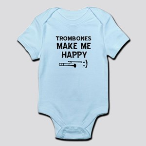 Trombones musical instrument designs Infant Bodysu